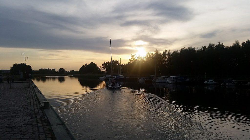 Segeln in Greifswald mit der Turnerschaft Cimbria